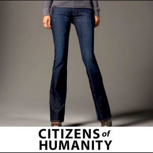 Citizens of Humanity Stay Gold Kelly Bootcut Jeans